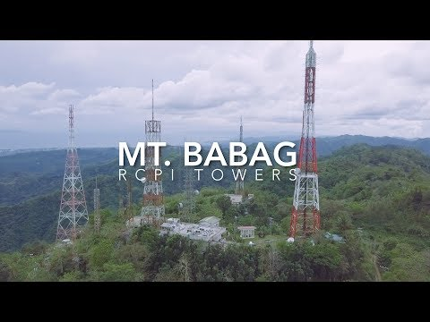 Hiking in the Philippines (Mt. Babag RCPI Towers, Cebu, Philippines)