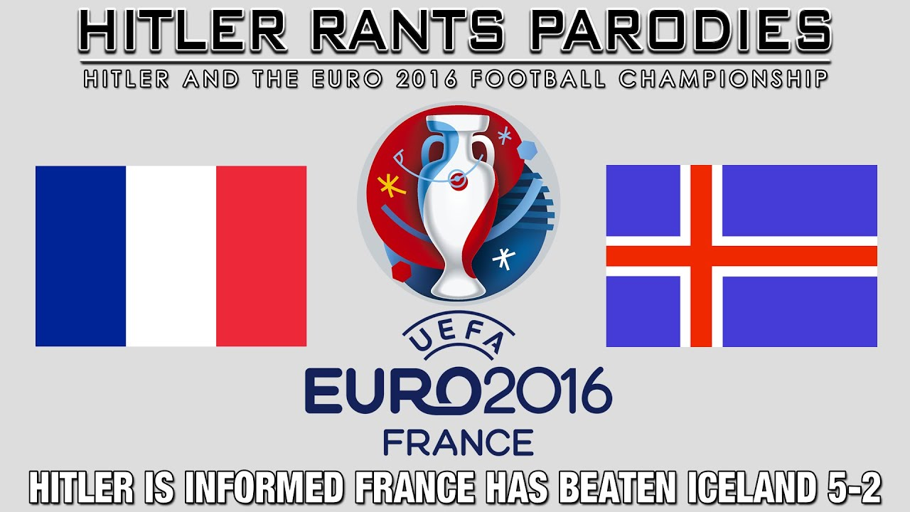 Hitler is informed France has beaten Iceland 5-2