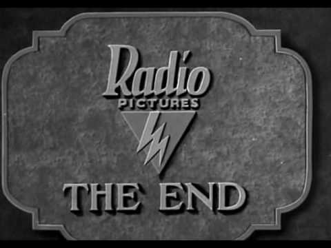 Radio Pictures end title 1929