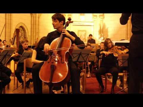 Cello Concerto N°1 Schostakovitch - Alexis Derouin - Marc Hajjar - Ensemble Nouvelles portées