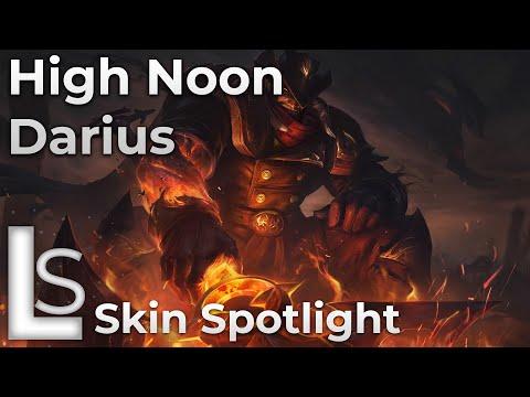 High Noon Darius - Skin Spotlight - High Noon - League of Legends - Patch 10.10