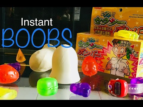 Review and Test: Daiso toy boobs, fruit ice cubes, digital counter