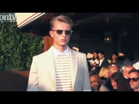 Tommy Hilfiger Men Spring/Summer 2013 Show & Backstage | New York Fashion Week NYFW | FashionTV FMEN