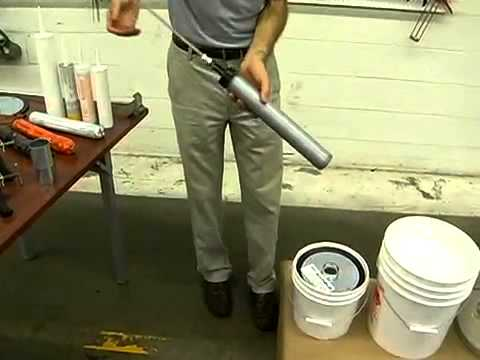 How to Properly Load a Bulk Caulking Gun