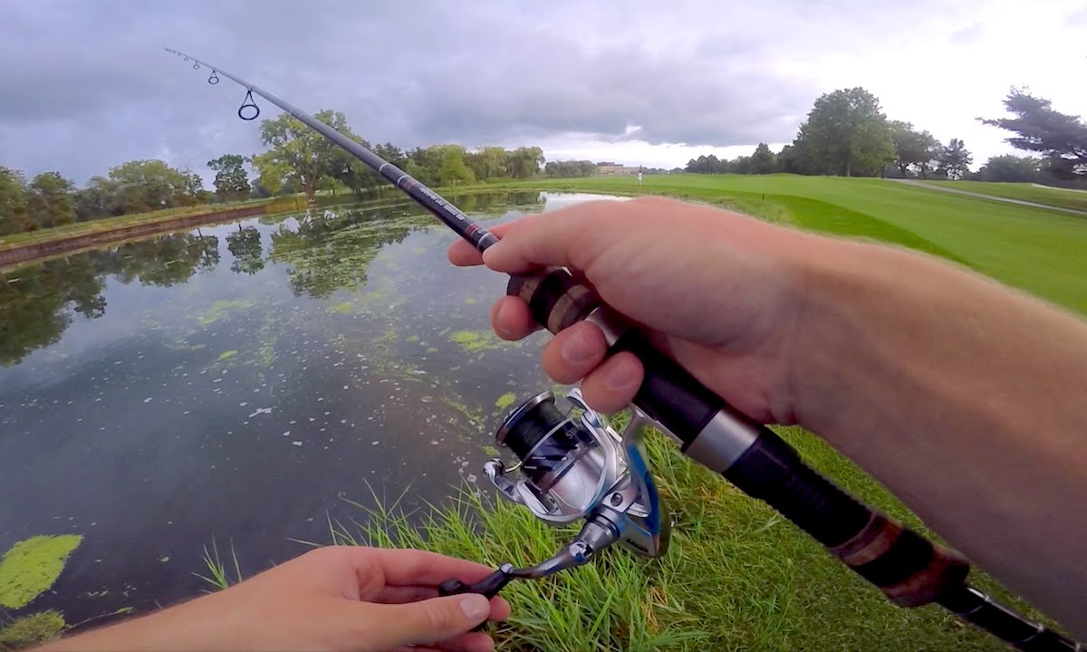 Micro hook fishing challenge youtube for Micro fishing hooks