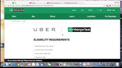 Uber And Enterprise Car-Rental. $281 A Week With Unlimited Miles