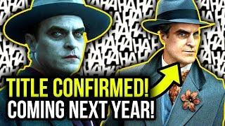 TITLE and RELEASE DATE of Joaquin Phoenix's Joker Origin Movie REVEALED!