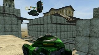 Улётный паркур #1 /Бездна. Tanki Online game - Hilarious Parkour on tanks / онлайн танки игра