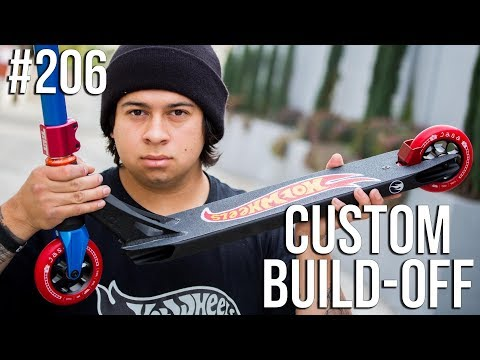 Custom Build Off #6!! - Part 3 (ft. Walter Perez) │ The Vault Pro Scooters