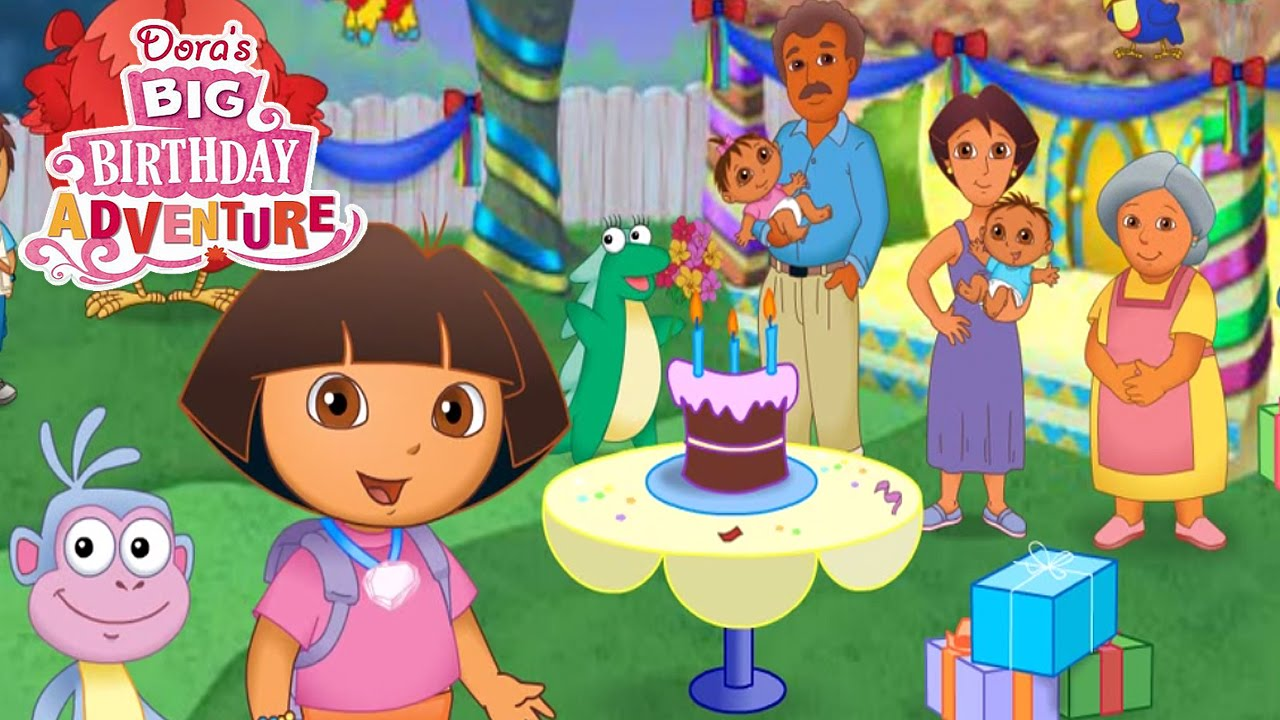 12 Dora the Explorer Doras Big Birthday Adventure Video Game