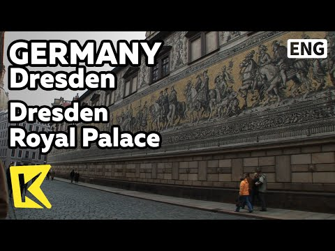 【K】Germany Travel-Dresden[독일 여행-드레스덴]레지덴츠 궁전, 거대 벽화/Dresden Royal Palace/Castle/Wall Painting