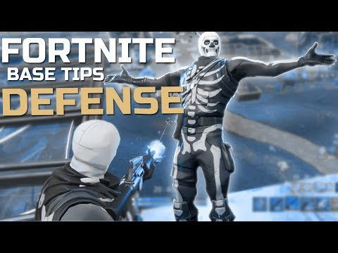 How to DEFEND Your Base! Fortnite Tips