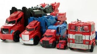 Transformers Optimus Prime Robot Transformation Car Toys 트랜스포머 옵티머스 프라임 트럭 장난감 자동차 로봇 변신 동영상