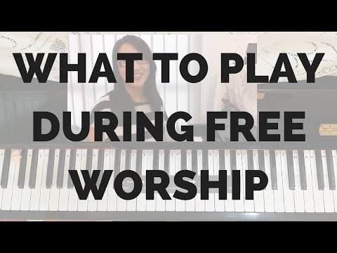Keyboard Tips – What to Play During Free Worship