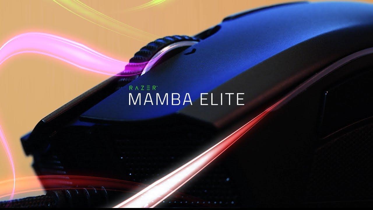 ef7db8a15d8 Advanced Ergonomic Gaming Mouse - Razer Mamba Elite