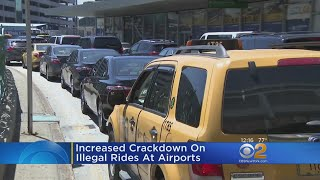 Port Authority Cracking Down On 'Cab Hustlers'
