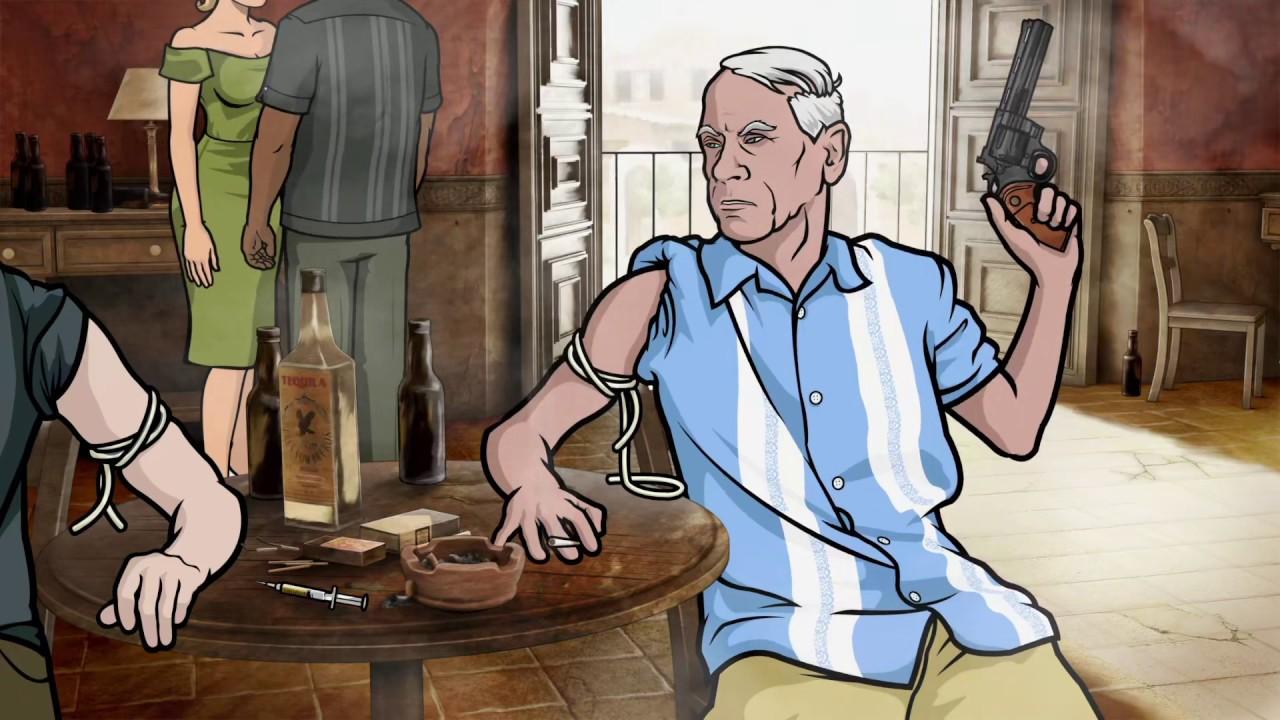 Archer - Burroughs Scene - YouTube