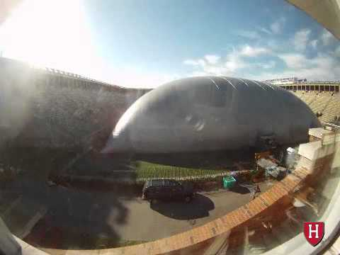 Time Lapse: The Transformation of Harvard Stadium