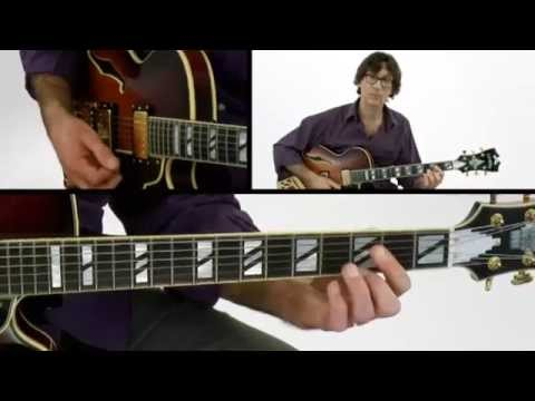 1 2 3 Jazz Chord Melody 20 Outside Scale Guitar Lesson Frank
