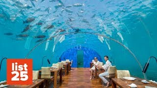 25 Most INSANE Restaurants In The World