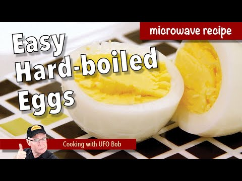 How to Microwave a Hard Boiled Egg - YouTube