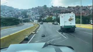 An Armored Car Of Venezuelan Special Forces Was Ambushed By Cartels In One Of Favelas Of Caracas.