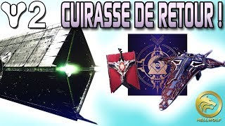 Destiny 2 - CUIRASSE DE RETOUR & NEW ENNEMI ! Raid God Roll, 600 Drop & 13ème Voeu