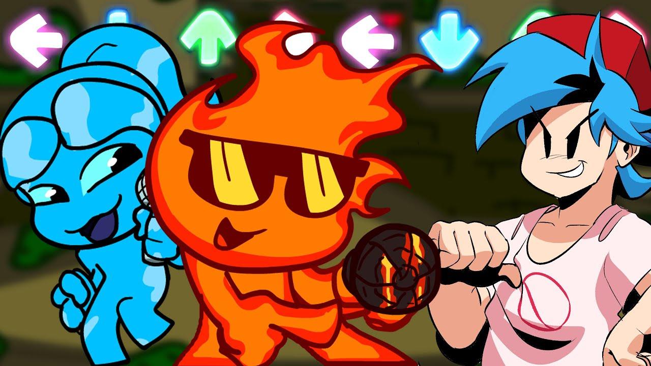 FOGUINHO e ÁGUA no FNF? (Friday Night Funkin VS Fireboy & Watergirl)