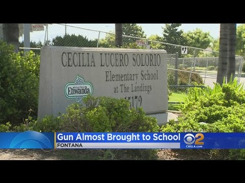 Fontana Student, 10, Tried To Bring Gun To School, Officials Say