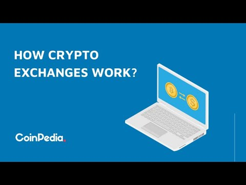 How Crypto Exchanges Work | Beginners Guide | Coinpedia