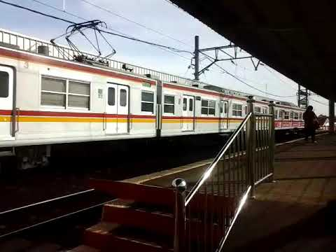 Hore KRL JR 東日本 203-106  sudah bisa berdinas di Jalur Rangkasbitung line|Parungpanjang