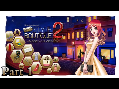 New Style Boutique 2- Teil 1 - Willkommen in Fashionville (HD/N3DS/LetsPlay)