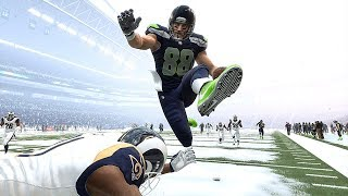 Madden 19 Seahawks vs Rams (Heavy Snowfall Exhibition Game) *All-Madden Edition* Xbox One X