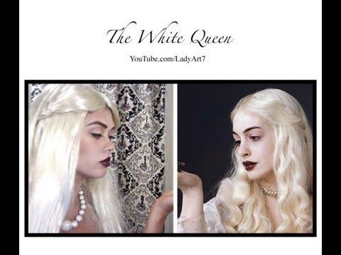 Tim Burtons Alice and Wonderland; the White Queen
