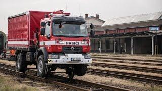 POŽÁRY.cz: Nové technické Renaulty HZS SŽDC umí jezdit jako vlak