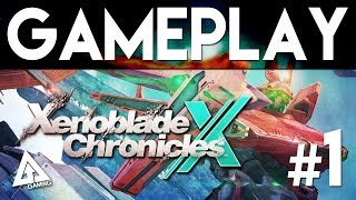 Xenoblade Chronicles X Gameplay Part 1