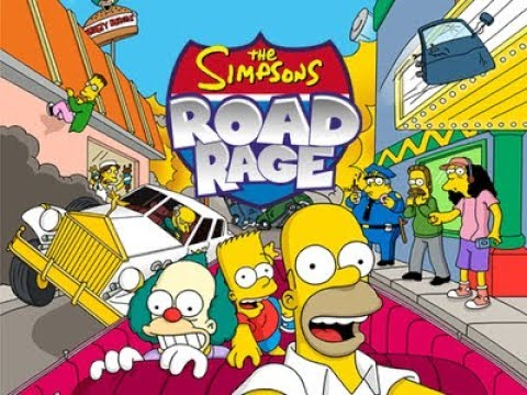The Simpsons: Road Rage - Entertainment District