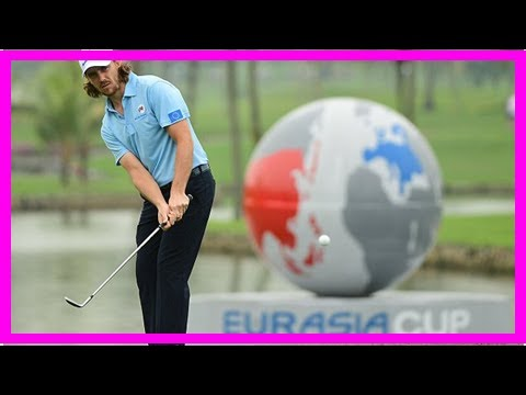 Tommy Fleetwood relishing ' crunch ' in Asia-Europe Cup   Daily Mail online