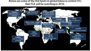 2016 Hot Spots in global tobacco control