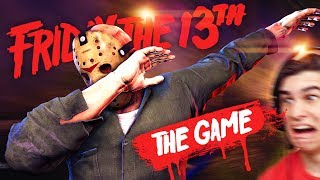 JASON BRUTALLY KILLS EVERYONE!! - Friday The 13th (Gameplay & Funny Moments)