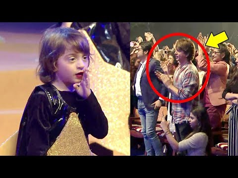 SRK's Son Abram Khan's CUTE Dancing Video At School Play With Shahrukh & Daughter Suhana Cheering