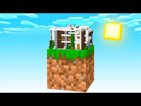 BUILDING A HOUSE ON ONE BLOCK! (EP 2)
