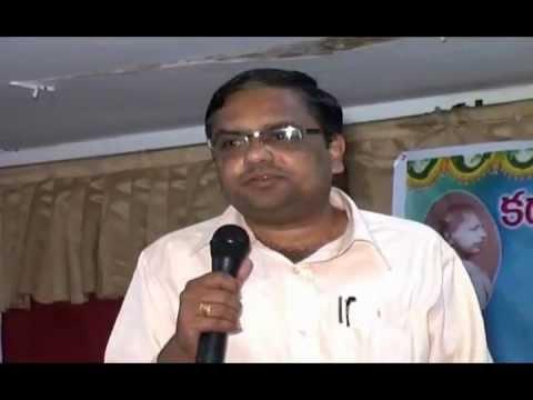 N N Murthy speaks on Green Story of Paryavaran Kavitodyamam at Rajahmundry