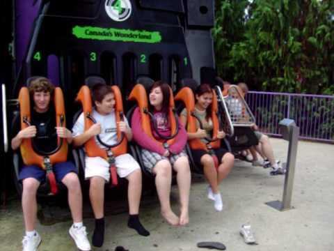 scary first drop zone ride