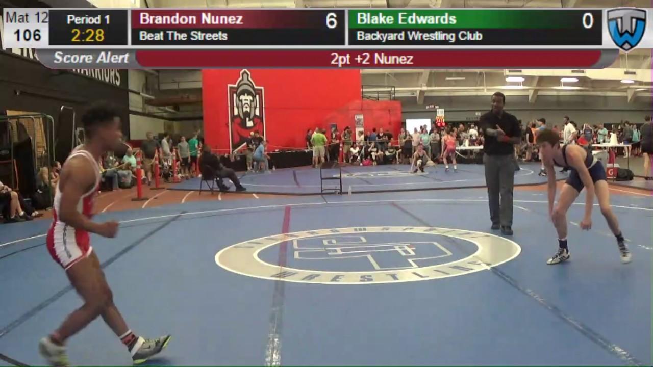 2146 junior men 106 brandon nunez beat the streets vs blake