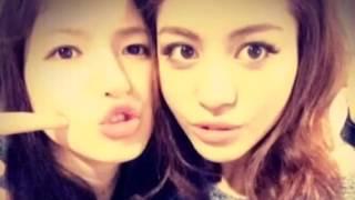 楓と石井杏奈の動画を作ってみました!
