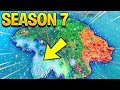 SEASON 7 MAP UPDATE! (Fortnite Battle Royale)