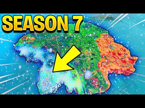 SEASON 7 MAP UPDATE! (Fortnite Battle Royale) thumbnail