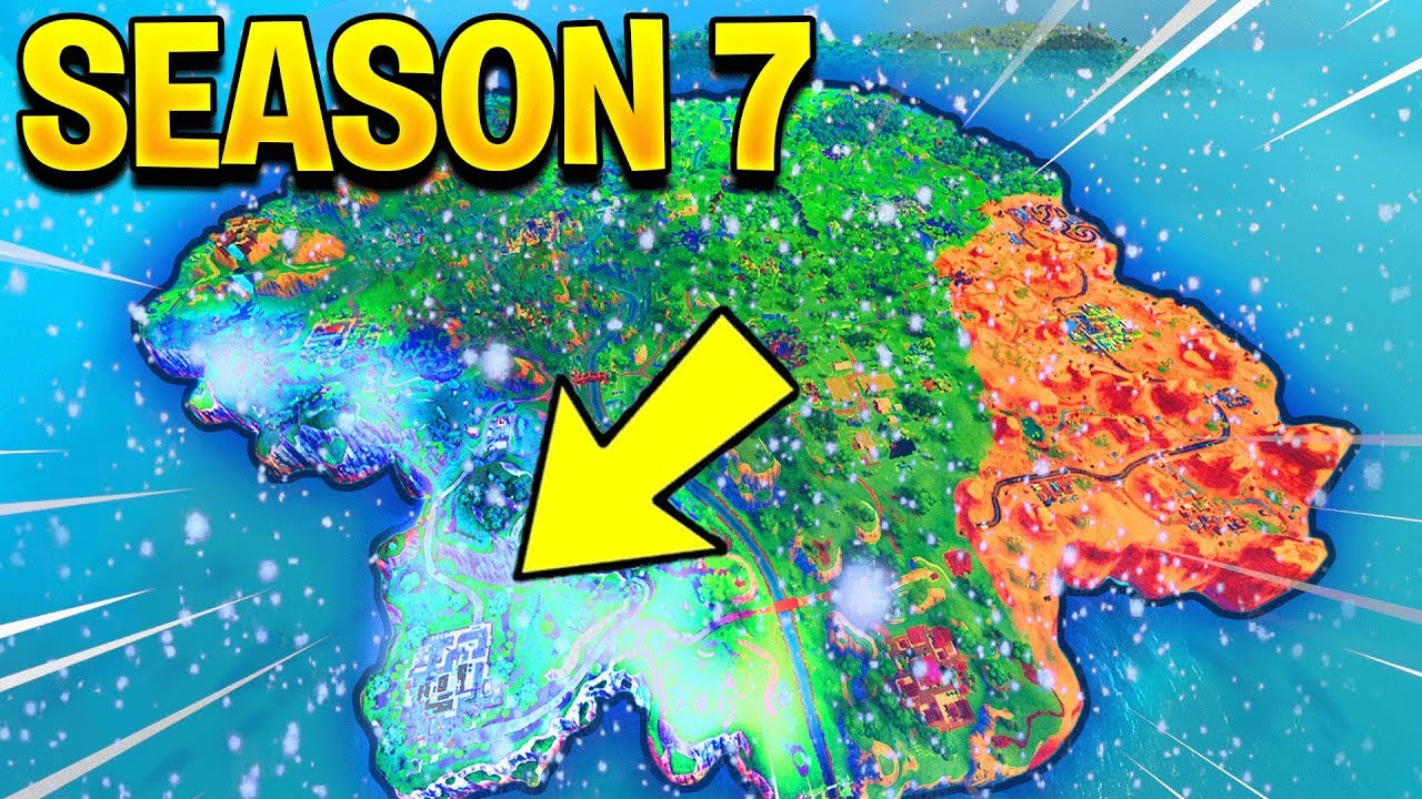 Season 7 Map Update Fortnite Battle Royale Youtube