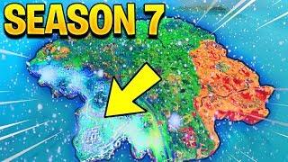 SEASON 7 MAP UPDATE! (Fortnite Battle Royale)